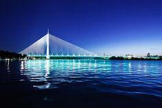 Ada Bridge Belgrade, Serbia