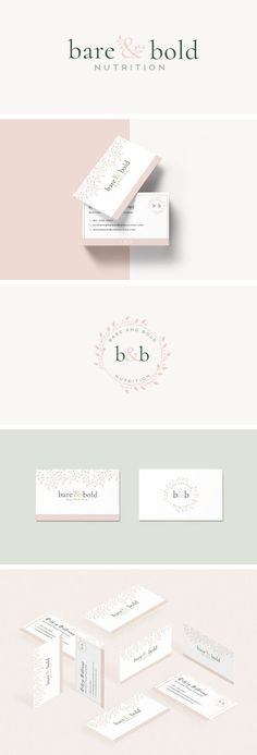 Bare & Bold Nutrition Design. graphic design, branding, logo design, feminine design, web design, blog design, #graphicdesign, #designinspiration, #branding, #logodesign #brandingidentity