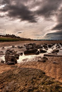 Rhyl Beach...what an awesome photo!