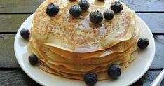 clatite americane, reteta clatite americane, flapjacks, flapjacks reteta Romanian Desserts, Pancakes, Sweet Treats, Deserts, Breakfast, Unt, Food, Recipes, Kuchen