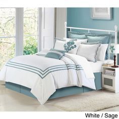 Cosmo Hotel Collection 8-piece Comforter set | Overstock.com Shopping - Great Deals on Comforter Sets