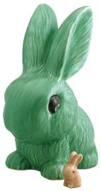 Love the green rabbits.