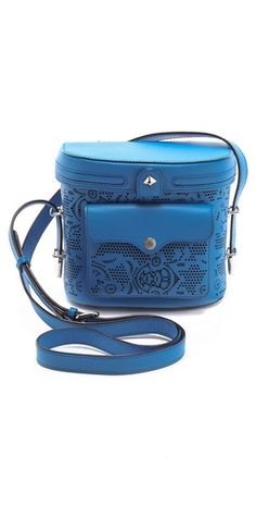 Rebecca Minkoff Laser Cut Collin Camera Bag | SHOPBOP  This Collin bag is so beautiful, stylish and fun. It perfectly fits my Canon t3i DSLR!