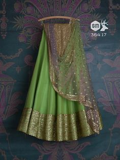 SMF LEH 300 17 I Sapphire with lime rose daman lehenga with matching shaded dupatta and matching rose daman blouse (SOLD) Indian Wedding Outfits, Indian Outfits, Indian Clothes, Bridal Outfits, Indian Weddings, Red Wedding, Wedding Wows, Wedding Sari, Timeless Wedding