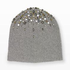 Darci Hat - Hats Women from Club Monaco Canada (easy DIY) Crochet Mittens Pattern, Crochet Beanie, Knitting Patterns, Knit Crochet, Crochet Hats, Knitting Accessories, Winter Accessories, Diy Accessories, Baby Hats Knitting