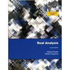 Real analysis / H.L. Royden, P.M. Fitzpatrick