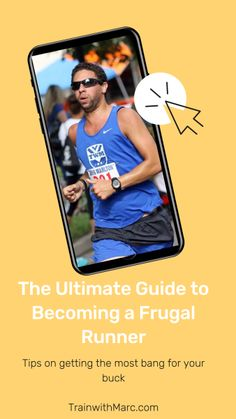 Runner's guide to becoming a frugal athlete Runners Guide, Runner Tips, Running Motivation, Fitness Motivation, You Fitness, Fitness Tips, Cross Training For Runners, Running Company, Happiness Project