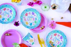 Lovely Easter Party tableware