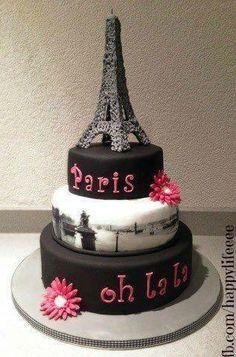 eiffel tower cake way cool