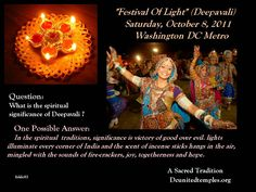 Dewali Celebration_A Sacred and Ancient Tradition of India__Om Shanti.