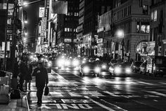 NYC. 7th Avenue looking uptown and 37th St. // by Coolor Foto on 500px