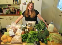 Zero Waste food shopping with The Non-Consumer Advocate.