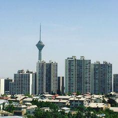"262 Likes, 5 Comments - Kamyar Minoukadeh (@kamyar78) on Instagram: ""Untitled | 21 May 2016 | Tehran ------------------------------ #tehran #2016 #miladtower #iran…"""