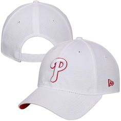huge discount 9998f 54bad New Era Philadelphia Phillies Women s Tech Essential Adjustable Hat - White