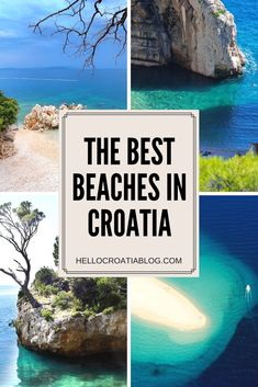 Croatia Beaches - The best beaches in Croatia for a Perfect Summer Vacation #croatia #beaches #summer #travel #beach #hellocroatia #travelblog