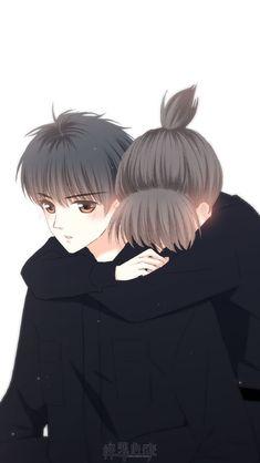 Love Never Fails Manga Cute Couple Drawings, Cute Couple Art, Anime Couples Drawings, Anime Love Couple, Anime Couples Manga, Anime Cupples, Anime Angel, Anime Chibi, Kawaii Anime