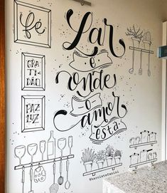 Posca Art, Chalkboard Lettering, Wall Drawing, Lettering Tutorial, Home Wallpaper, Letter Art, Chalk Art, Chalkboard Wall Bedroom, Diy Room Decor
