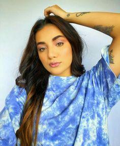 Creative Instagram Photo Ideas, Creative Makeup Looks, Learn A New Skill, Pics Art, Photography Poses, Tie Dye, Sari, Celebs, Unicorn