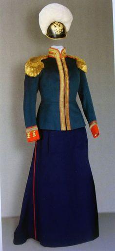 мундир 9-ого Казанского драгунского Е. И. В. Великой Княжны Марии Николаевны полка