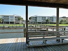 Don't forget your boat! 50 boat slips available to guests at Sea Oats complex