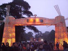 Outside lands gates
