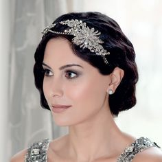 Twenties Treasure Side Tiara