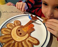 natalie's sentiments: Shane's Thanksgiving Pancakes - turkey