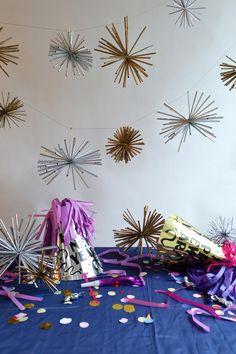 straw starburst garl