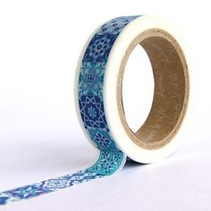 Moroccan Tile Washi Tape from omiyage.ca Masking Tape, Washi Tape, Tapas, Diy Projects To Try, Craft Supplies, Stationery, Diy Crafts, Moroccan, Crafty