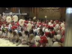 Children from earthquake areas travel by train to the Vatican to meet the pope - ROME REPORTS