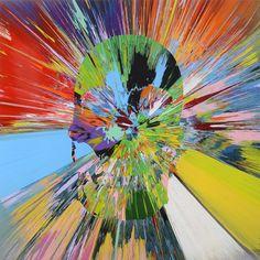 Adición: Beautiful veles anaclitic painting, by Damien Hirst Damien Hirst Paintings, Abstract Art Images, Hirst Arts, Vanitas, Deco, Art Boards, Art Inspo, Photo Art, Art Drawings