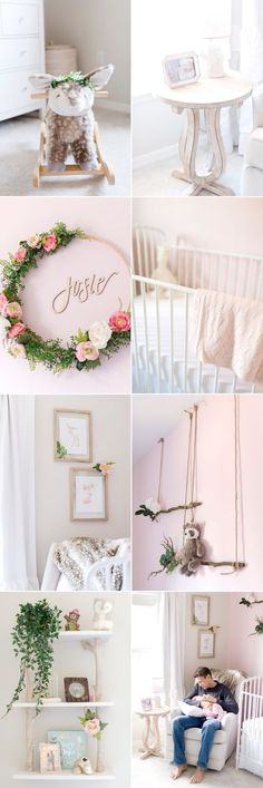 Lifestyle Newborn session in Tampa 2019 Baby deer rocker! Name wreath! The post Lifestyle Newborn session in Tampa 2019 appeared first on Nursery Diy. Nursery Themes, Nursery Room, Baby Nursery Diy, Nursery Twins, Baby Room Ideas For Girls, Deer Themed Nursery, Pastel Nursery, Diy Nursery Decor, Baby Room Diy