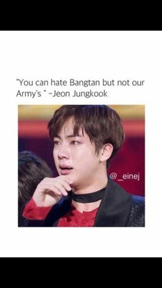 AND YOU CAN HATE ARMY BUT NOT BANGTAN... No group can love their fandom as much as BTS loves their ARMYS.