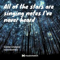 Adam Barnes - Come Undone