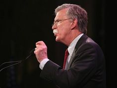 Former Ambassador to the United Nations John Bolton speaks to guests at the Iowa Freedom Summit on January 2015 in Des Moines, Iowa. Un Ambassador, Appeasement, Eu Referendum, Breitbart News, Iraq War, North Korea, United Nations, Iowa, American History