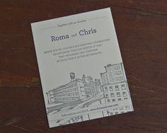 Chris and Roma invite