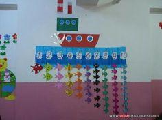 Preschool and Homeschool Childcare Activities, Nursery Activities, Preschool Lesson Plans, Preschool Learning Activities, Preschool Decor, Numbers Preschool, Class Decoration, School Decorations, Classroom Crafts