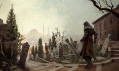 Constantinople Backstreets - Characters & Art - Assassin's Creed: Revelations
