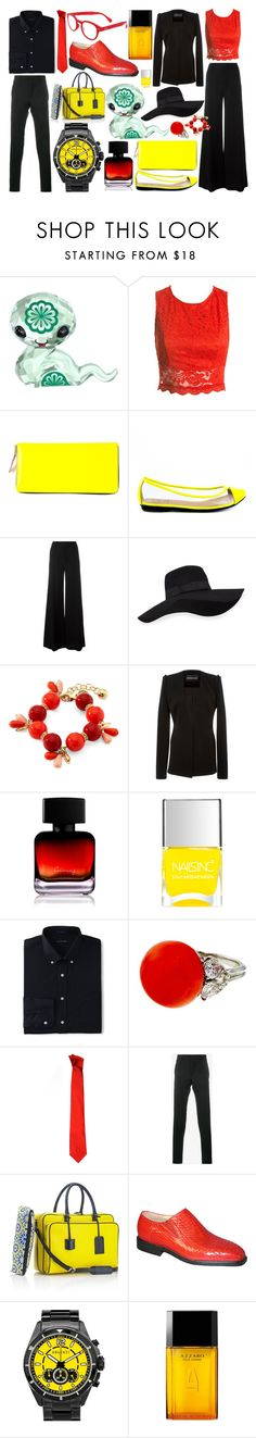"""Year Of The Snake"" by quinn-avina ❤ liked on Polyvore featuring Swarovski, Sans Souci, Comme des Garçons, Penny Loves Kenny, Plein Sud, San Diego Hat Co., Monet, Brandon Maxwell, The Collection by Phuong Dang and Lands' End"