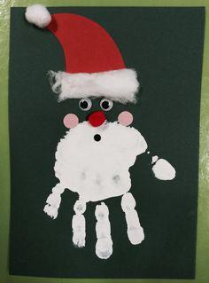 christmas crafts for infants Handicraft Christmas - Inspirational Ideas Christmas Crafts For Toddlers, Winter Crafts For Kids, Preschool Christmas, Christmas Activities, Christmas Baby, Holiday Crafts, Christmas Ideas, Christmas Cards From Kids, Handprint Christmas Art