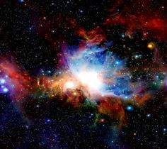 Orion Nebula is located approximately light-years away in our spiral arm of the Milky Way Galaxy. Check out this clip from The Universe that shows how it would look like If The Orion Nebula Was Only 4 Light Years Away. Horsehead Nebula, Orion Nebula, Andromeda Galaxy, Eagle Nebula, Carina Nebula, Nebula Wallpaper, Galaxy Wallpaper, Cosmos, What Is Information
