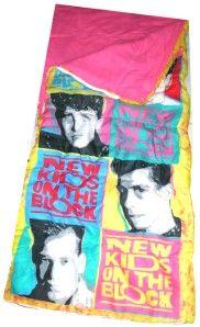 NKOTB Sleeping Bag.. I Totally owned this!!