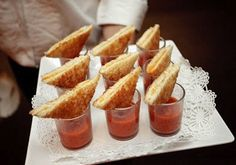 // Grilled Cheese, Tomato Soup.