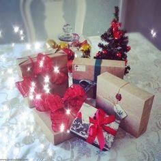 Embrulhos de Presentes com Estilo - Pacotes de Presentes - Gifts Wrapped