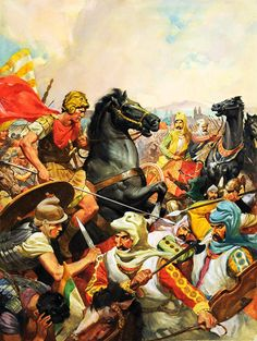 Painting and War.  Sursumkorda in memoriam - Alexander the Great, king of Macedonia, the kingdom of ancient Greece