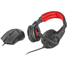 Accurate 4800 dpi gaming mouse and comfortable over-ear gaming headset Trust GXT 784 Gaming Set 2 in 1 Color: Black. Turtle Beach, Gaming Headset, Wireless Headset, Nintendo Switch, Trust Games, Gaming Accessories, 2 In, Mousse