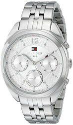 Tommy Hilfiger Women's 1781485 Analog Display Quartz Silver Watch