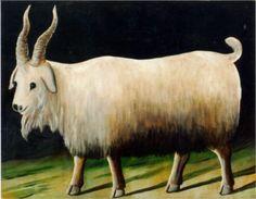 Goat - Niko Pirosmani (Art Museum of Georgia, Tbilisi, Georgia)