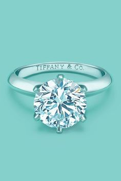 Maybe not Tiffany's but the solitaire...