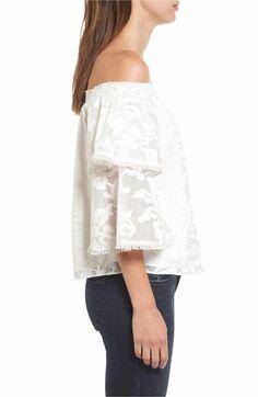 Main Image - devlin Sia Bell Sleeve Blouse